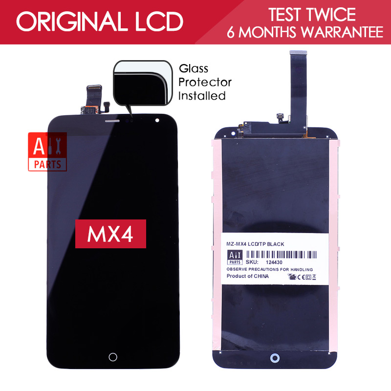 5 36 inch 100 Test Original Brand TFT 1920x1152 Digitizer LCD For MEIZU MX4 LCD Display
