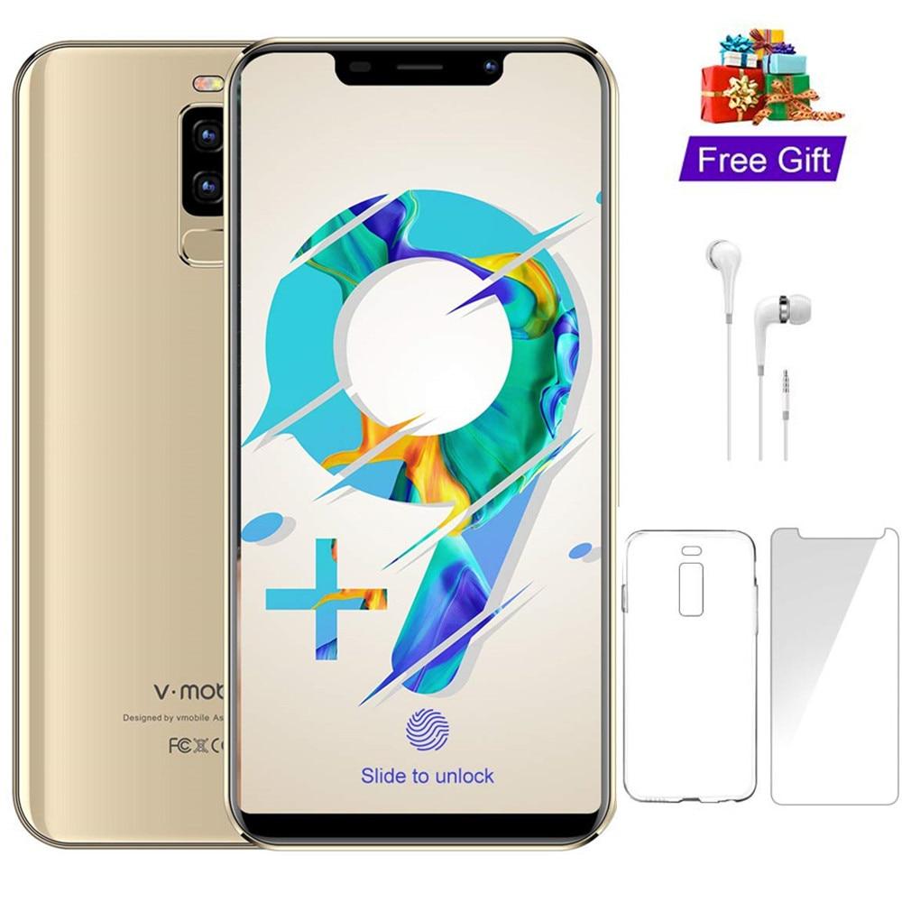 4G LTE TEENO VMobile S9 Telefone Móvel Android 8.1 5.84