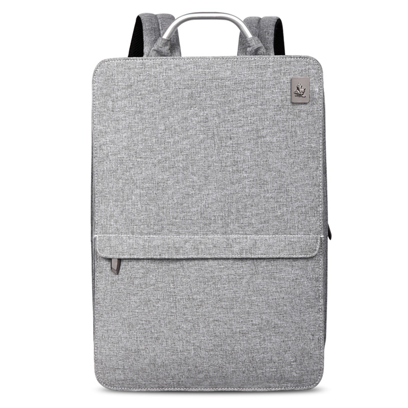 Image 2 - Slim Laptop Backpack Women/Men 14 inch Office Work Student Backpack Business Bag Unisex School Bag Ultralight Thin Back Pack-in Backpacks from Luggage & Bags
