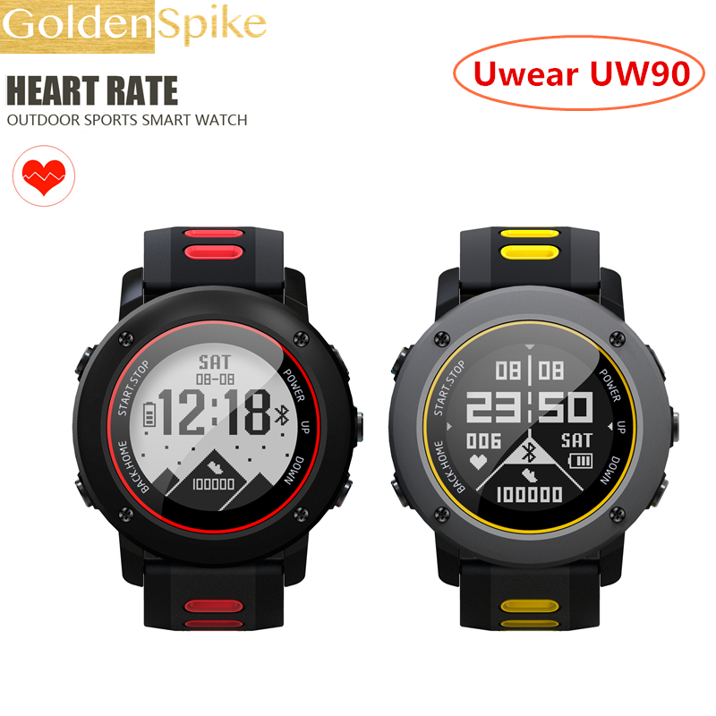 Origina Heart Rate Monitor Sport Waterproof SIM Card UW90 GPS Smart Watch Support Bluetooth 4.0 Smartwatch for Android IOS Phone s958 gps smart watch heart rate monitor sport ip68 waterproof support sim card bluetooth 4 0 smartwatch for android ios phone
