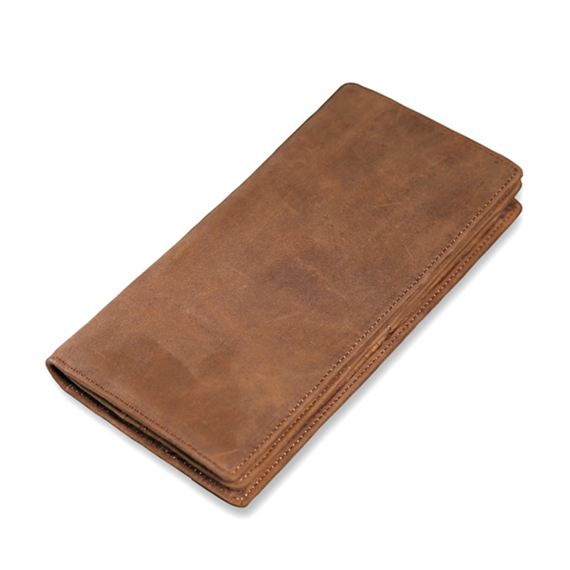 New Brand Fashion Genuine Leather Men Phone Wallet Slim Luxury Purse Clutch Bag Card Holder mance 13colors new fashion brand