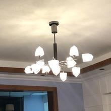 Modern Chandelier Living room Hanglamp Restaurant Bedroom Suspension Lighting Home Loft Decoration Nordic Hanging Light Fixtures цена 2017