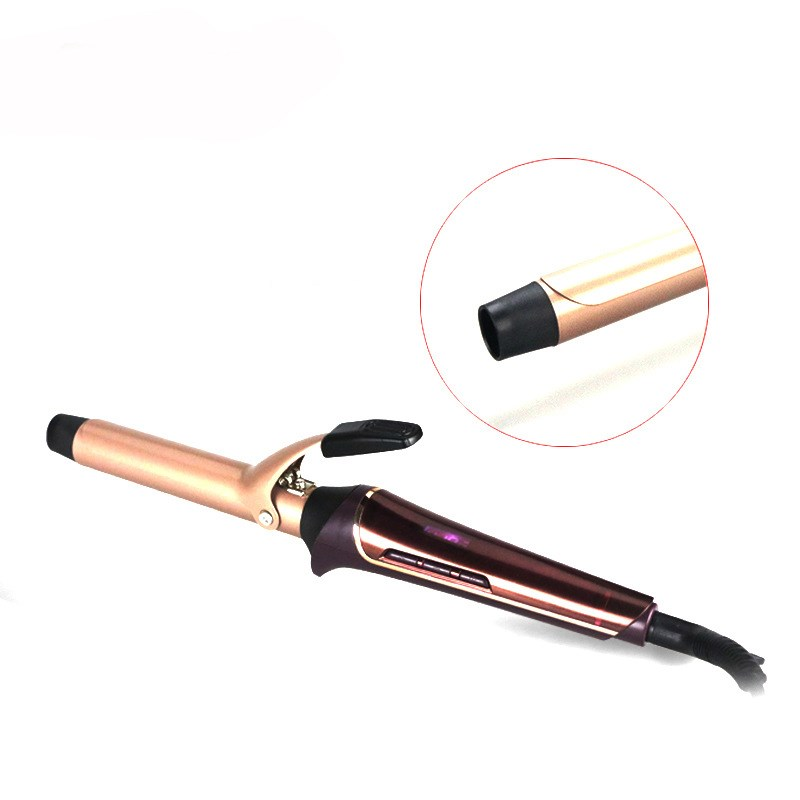 2017 New Hair Curler Automatic Ceramic LCD Display Hair Curling Iron Electric Hair Curlers with Clip Hair Styling ToolS 110-240V kemei km 2022 electric ceramic curler with three perm rolls magic hair curlers curling iron hairstyle tool