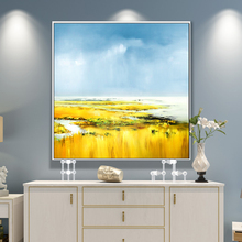 100% Hand Painted Abstract Scenery Art Oil Painting On Canvas Wall Art Wall Adornment Pictures Painting For Live Room Home Decor цена в Москве и Питере
