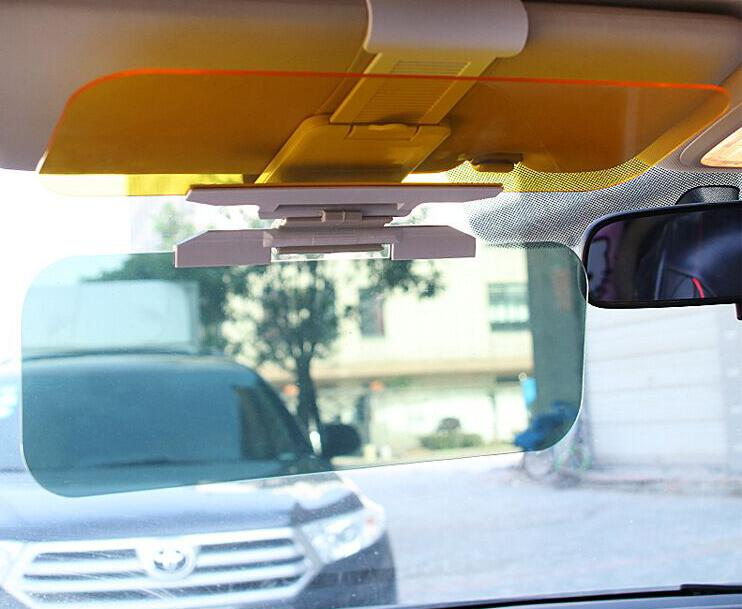 Car Anti Dazzling Goggle Day Night Vision Driving Sun Visors Mirror Driving Mirror UV Fold Flip Down Visor
