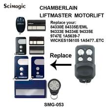 Liftmaster Chamberlain Motorlift 94335E 84335E control remoto reemplazo de código rodante 433,92 mhz, control de puerta 94335E, transmisor