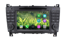 2 DIN Android 5.1.1 Car DVD Player for Benz C/CLK class W203 W209 C200 C220 C230 C240 C250 C270 C300 C320 W219 WiFi GPS Radio