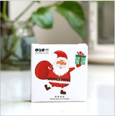45 Teile/paket Glücklich Frohe Weihnachten Weihnachtsmann Dekoration ...