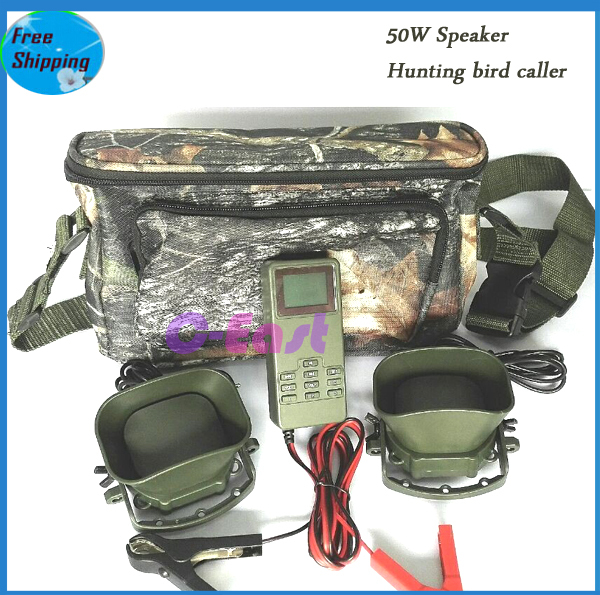 Special for Mid-East area 2 x 50W speaker hunting caller hunting mp3 bird caller hunting bird mp3 player goose caller