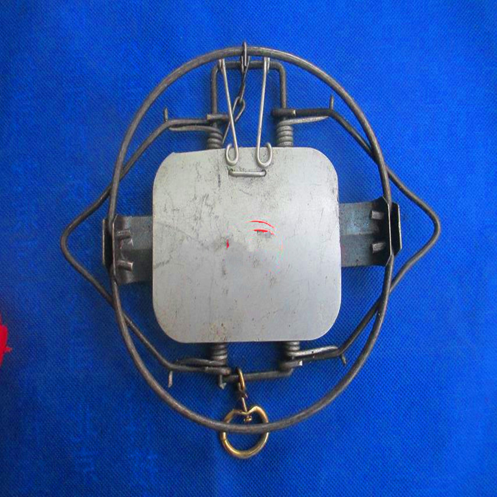 Coil Spring Trap for Rabbit Vole Fox Coyote Muskrat Fisher Mink