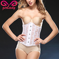 GIRLADY Summer Breathable Underbust Corset Body Shaper Sexy Lace Waist Trainer Girdle Palace Style Slimming Underwear Women 2016