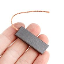 2pcs New Carbon Brushes Durable Motor Carbon Brushes For Siemens Drum Type Washing Machine 5x13.5x40mm 1 pair useful washing machine motor carbon insert brushes l94mf7 for whirlpool