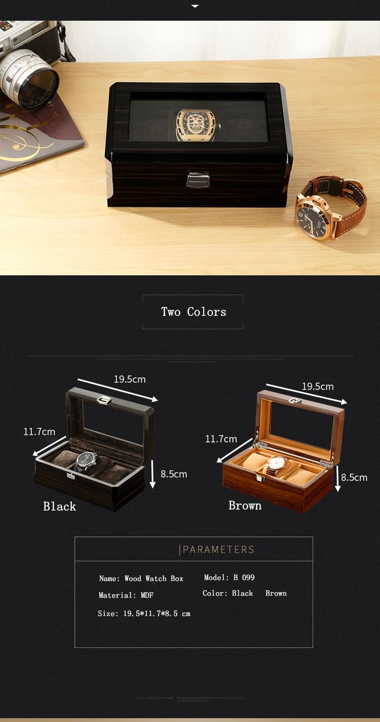 watch wooden box