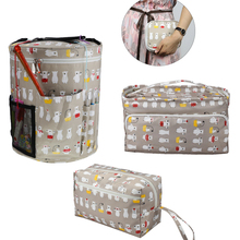 Пряжа сумка для хранения сплетенные сумки для шерсти крючки вязальные Вязание Иглы Швейные принадлежности аксессуары DIY бытовой Органайзер