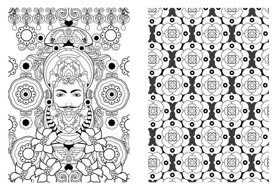 Färbung bücher für erwachsene: Kunst therapie Mandala, 100 ...