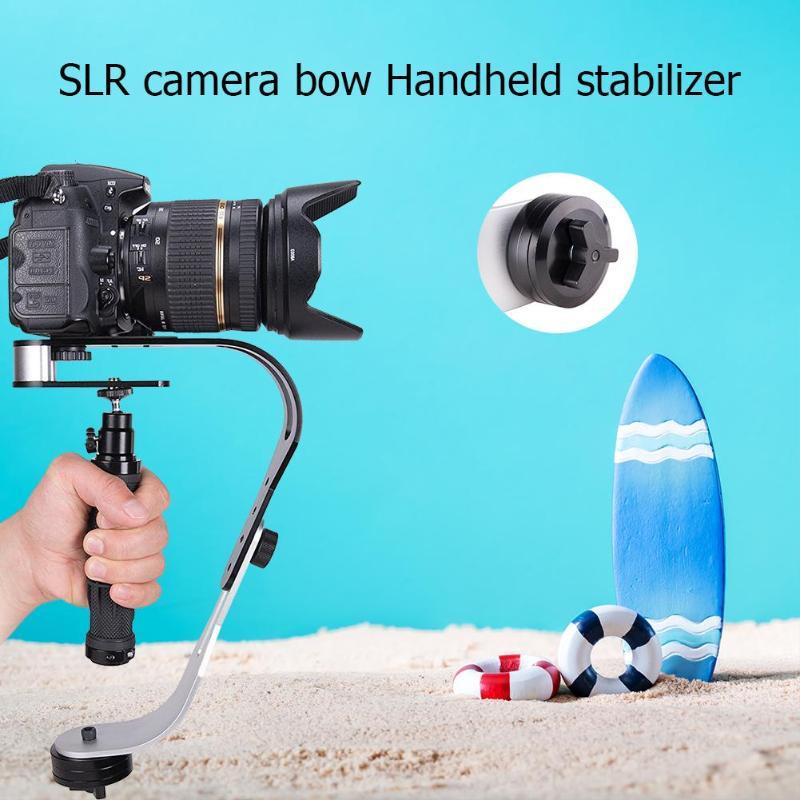 Steadycam Stable Handheld Stabilizer Aluminum SLR Camera Video Steady Holder LW