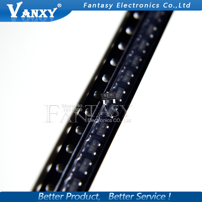 50PCS MMBF170LT1G SOT23 MMBF170 SOT Power MOSFET 500 MA, 60 V New And Original IC