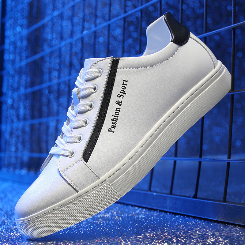 2019 hommes vulcaniser chaussures à lacets chaussures de loisir à la mode printemps automne plat chaussures décontractées hommes baskets chaussure homme G5-51