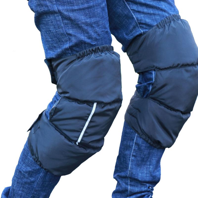 Winter Knee Warmer Women Men Motorcycle Bicycle Ski Snowboard Leg Warmers Windproof Waterproof Knee Protection Gear