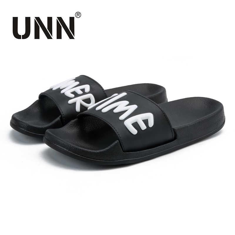 9dc5d80bfe00 УНН Мужские тапочки Сланцы Лето Сандалии для девочек Мужская обувь eva  пляжные шлепанцы для дома и