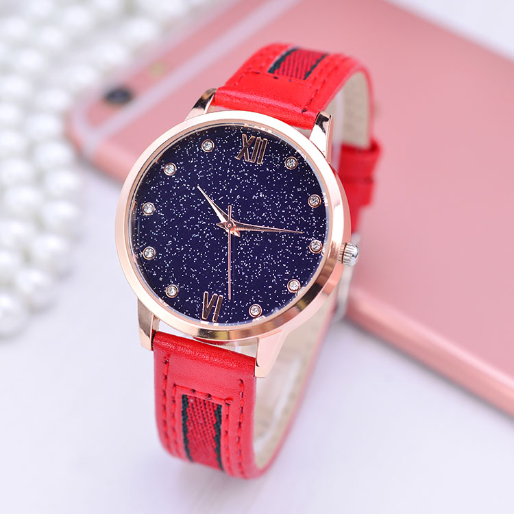 Fashion Star Sky Dial Watches Women Top Luxury Brand Ladies Quartz Watch Famous Wrist Watch Relogio Feminino Hodinky Clock XFCS