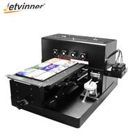 Jetvinner A3 UV Inkjet Printer LED UV Printing Machine for Customize Phone Case Wood Metal Phone Case Glass PVC card Leather
