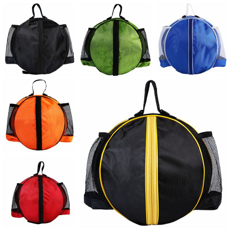 2018 Basketball Solid Sports Bags Personality Sports Basketball Football Backpack Colorful Easy Take High Quality Newest