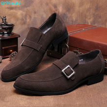 Handmade Italy Designer Suede Wedding Party Luxury Outdoor Fashion Casual Male Dress Genuine Leather Mens formal shoes fashion braided casual mens loafers dress luxury genuine leather breathable italy designer wedding men shoes man flats for party