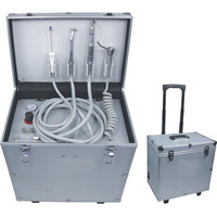 Low noise portable dental unit mobile turbine unit dental care products