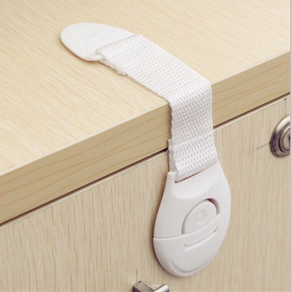 New Child Infant Toddler Cabinet Safety Fridge Drawer Door Cupboard Locks High Quality Baby Kids Multifunction Lockable In Straps From
