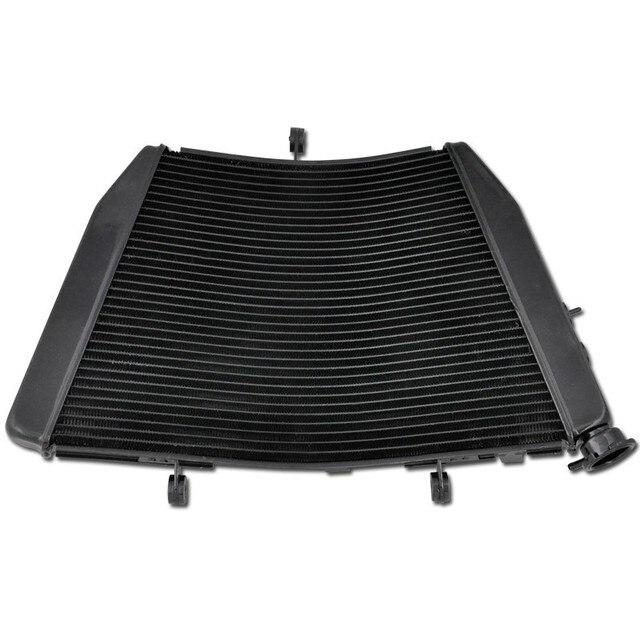 Для Suzuki GSXR600 GSXR750 2009 2010 2011 2012 2013 2014 GSX-R 600 750 Алюминиевые Детали Мотоциклов Охлаждения Радиатора Кулер НОВЫЙ