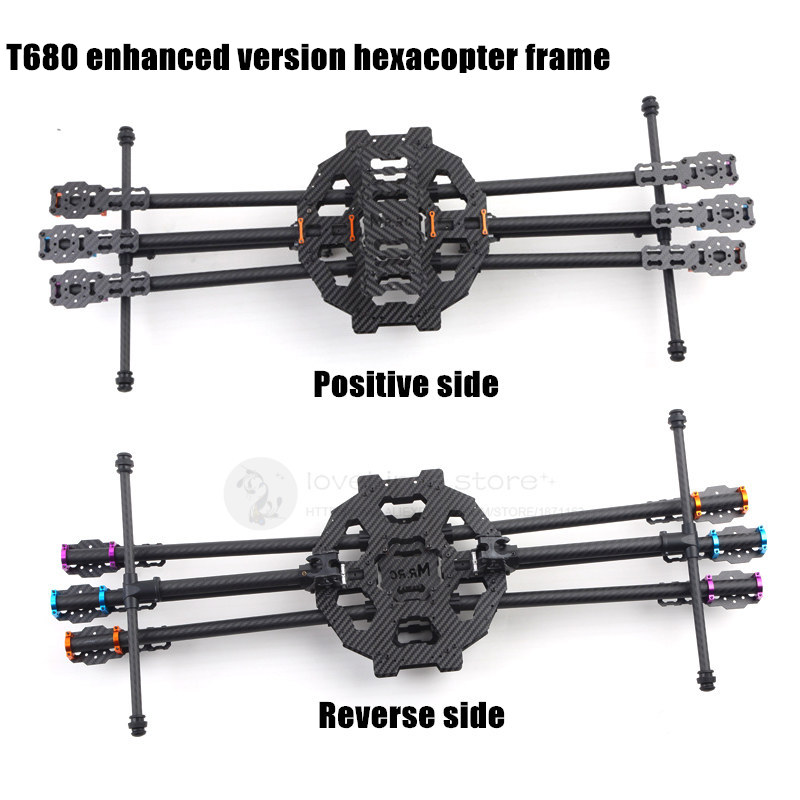 DIY FPV Aerial drones T680 enhanced version hexacopter folding carbon fiber frame with landing gear full specialized dye ink ciss for eposn t1711 t1701 for epson xp 313 xp 413 xp 103 xp 203 xp 207 xp 303 xp 306 xp 403 xp 406