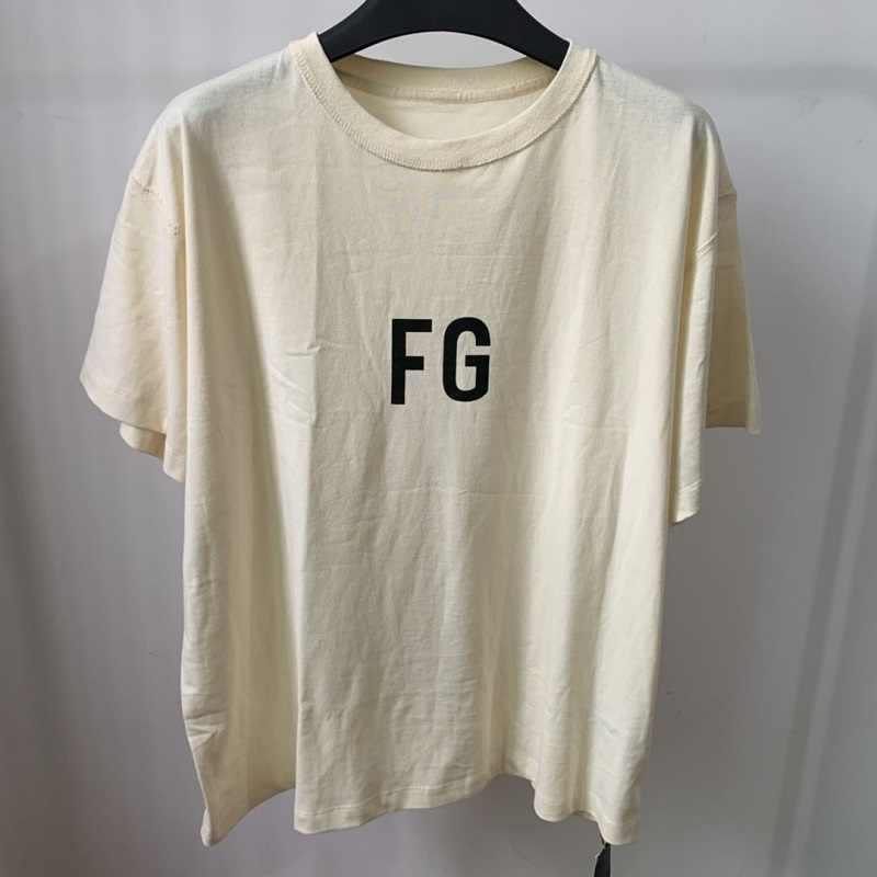 FG brief sechste saison begrenzte wichtigsten linie kurzen ärmeln T-shirt ins lose bodenbildung shirt hip-hop T stil kurze T