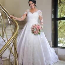 cb6e0b7b715 2019 elegante Lange Hülsen-spitze Muslimischen Hochzeit Kleid Für Braut  Islamischen hochzeit Kleider Hochzeit Braut