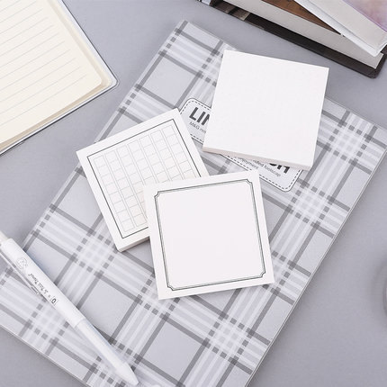 Zmax 100Sheets/Pack Notes Memo Pad Flake Sticker Post It Offce School Supplies Student Stationery Post it paper Self Adhesive