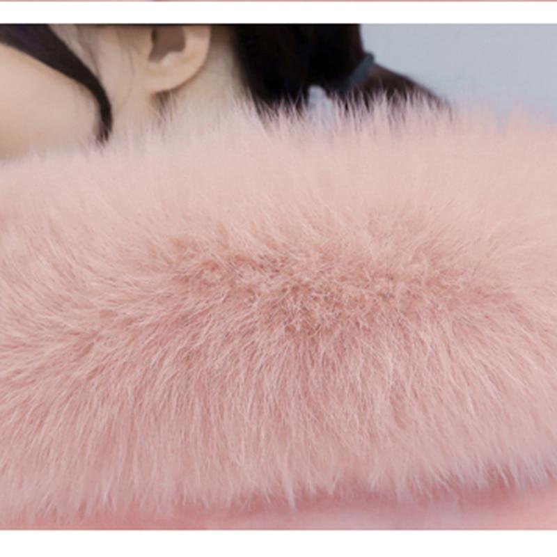 Renard Green Berger Paragraphe Nouveau Veste Chapeau Femmes Avec Fourrure Laine pink Ky072 Automne La Manteau Parka 2017 Black army Mode Moutons Hiver De Long fnFFPZ