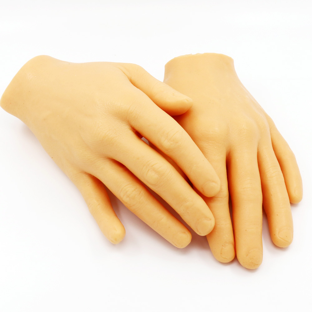 Pro Diy 3D Fake Skin Tattoo Practice Hand For Beginners Synthetic Material Similar to Human Hands Tattoo Accessory supply