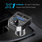 VEHEMO 5V/2.1A Car Bluetooth Mp3 Cigarette Charger TF Pin MP3 Player for Automotive Car Charger Wireless Truck Car for 2 USB