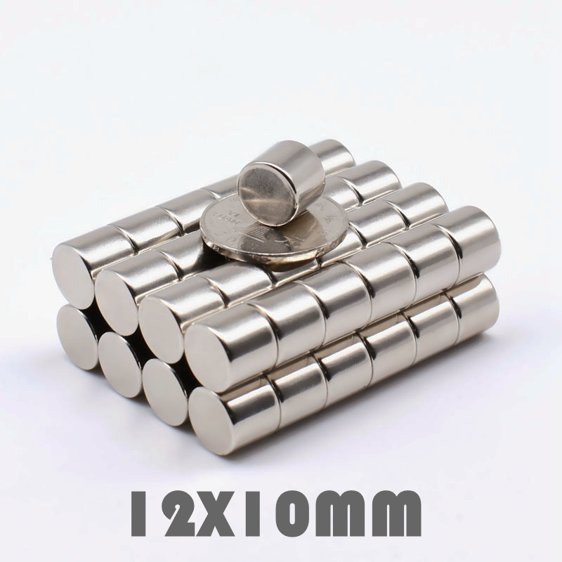 Neodymium Disc Magnet 12mm dia x 5mm DIY Craft Permenant Magnet N35 12x5 mm