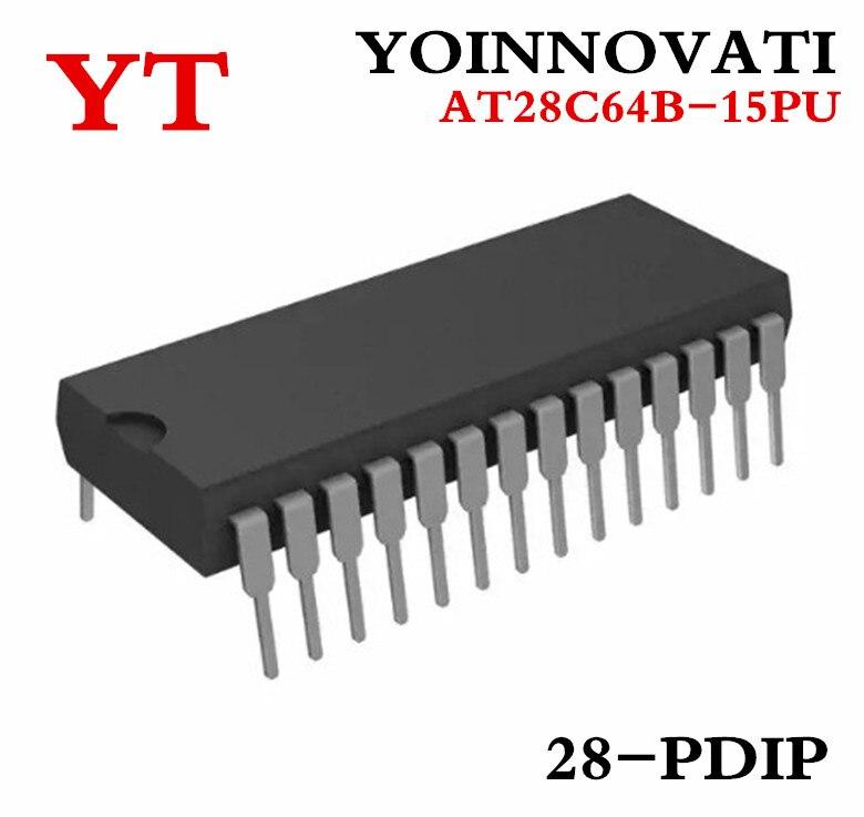 Free shipping AT28C64B AT28C64 28C64 AT28C64B-15PU AT28C64B-15PC DIP 2 pieces / lot Best quality