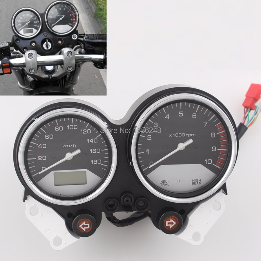 Motorcycle Gauges Speedometer Tachometer Cluster Fits For Honda X4 CB1300 1997 2003 2002 2001 1999 1998