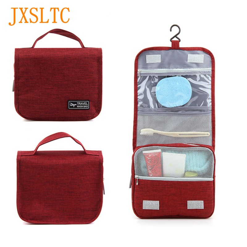 JXSLTC Brand unisex personal care Makeup Waterproof travel cosmetic bag organize Case Necessaries Makeup Hygiene Bag Cleaning