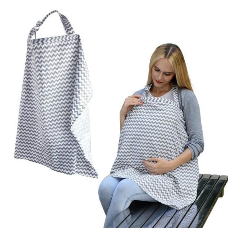 Infant Cotton Nursing Cover Breast Feeding Nursing Apron
