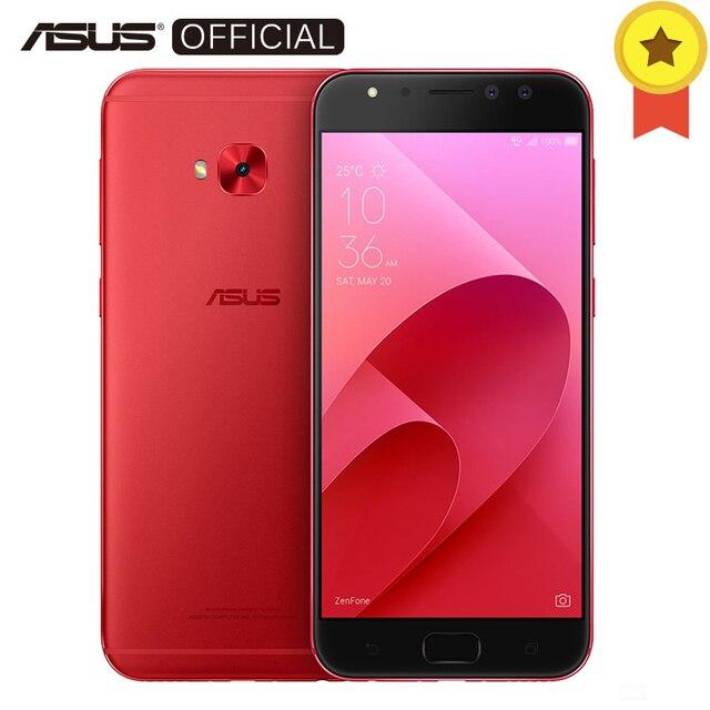 ASUS ZenFone 4 Selfie Pro ZD552KL 24.0MP Фронтальная камера мобильный телефон 8 ядер Snapdragon 625 Android 7,1 4 ГБ ОЗУ 64 ГБ Rom 5,5 ''FHD