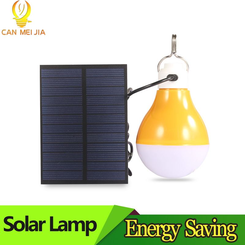new led e27 energy saving rechargeable intelligent light bulb lamp emergency lights portable New Solar LED Lamp Lights Bulb 15W Energy Saving Emergency Outdoor Solar Led Bulbs Powered Panel Light for Camp Fishing Tent