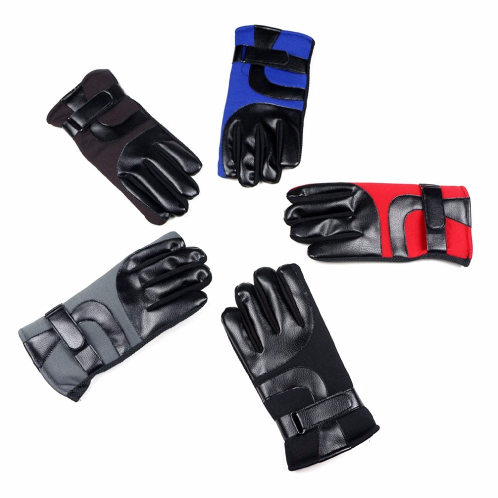 Velvet Skiing Gloves Windproof Warm Telefingers Gloves Soft Plus Skiing Gloves Spring Autumn Winter Protective Drop Shipping