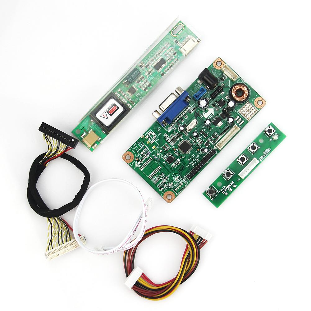 New For LTN170P2-L01 LTN170MT02-M01  Control Driver Board VGA LVDS Monitor Reuse Laptop 1680x1050  Free Shipping
