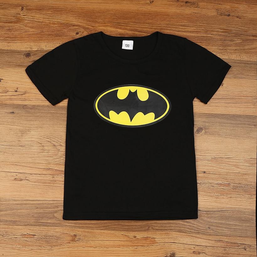 New 2017 cartoon hero t-shirts costume children's clothing children t shirts children's wear
