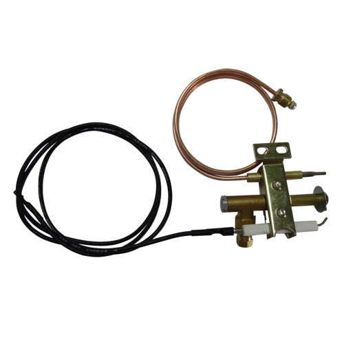 EARTH STAR Gas fryer Universal Pilot burner with 900mm piezo wire and thermocouple M9X1 thread