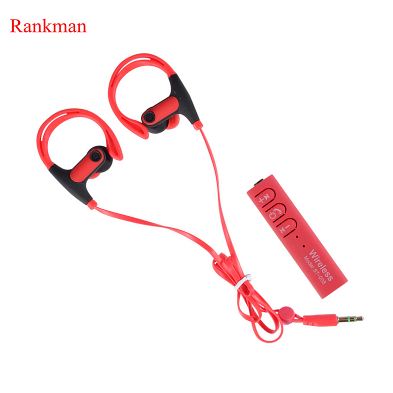 Rankman Sport Wireless Bluetooth Earphone With Microphone Separable Earbuds for iphone samsung xiaomi fone de ouvido